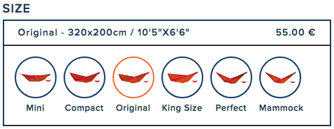 How to choose the right size of parachute hammock