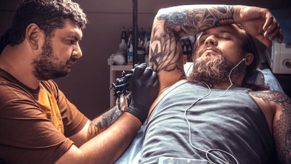 tattoo artist bali