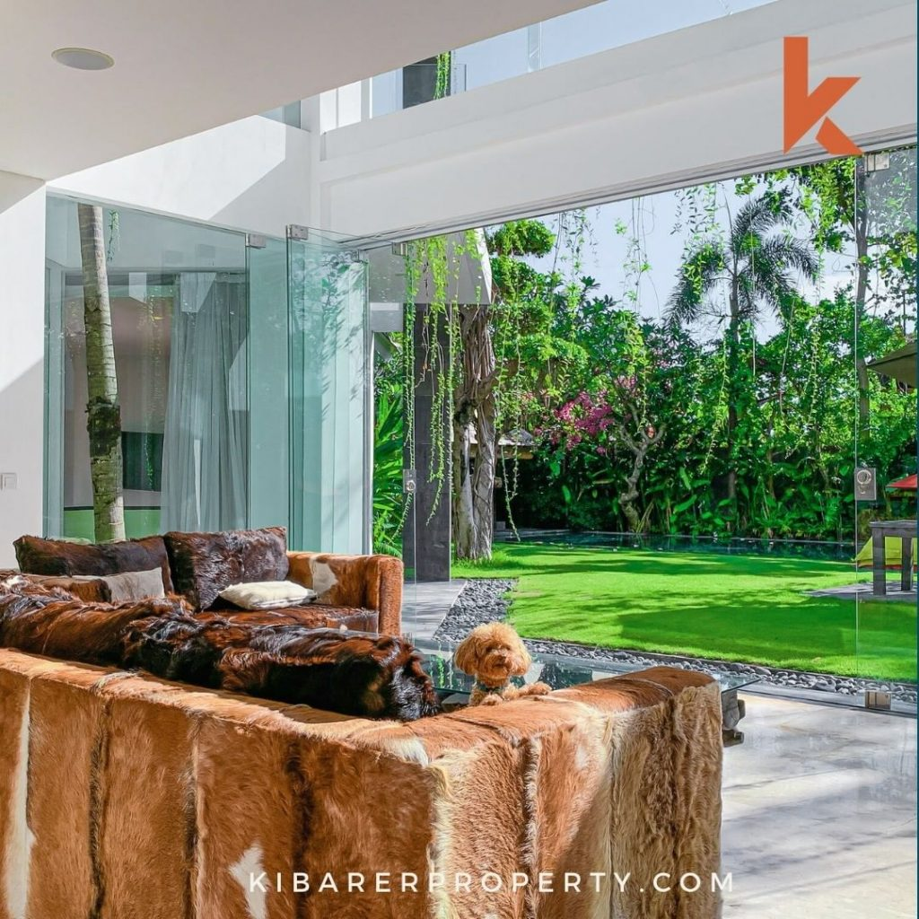 Open Living House Plan is in the Trend for Canggu Bali Villa Rentals